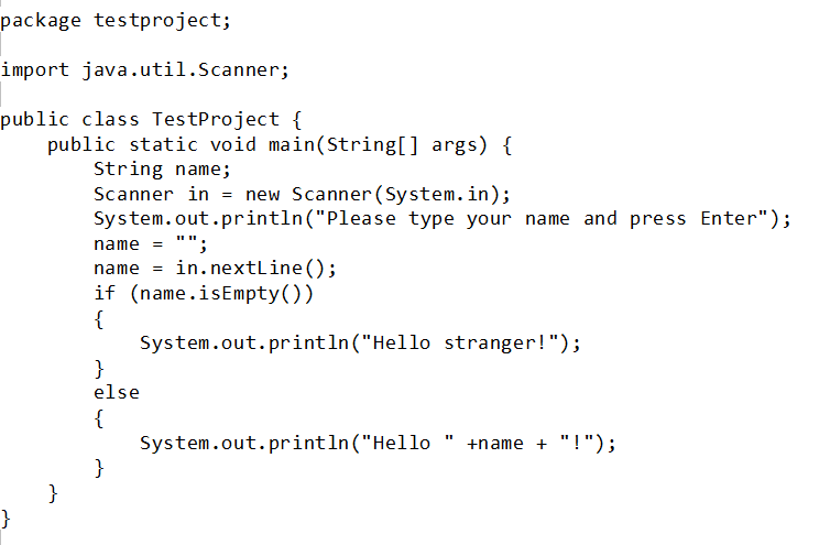 Java sample