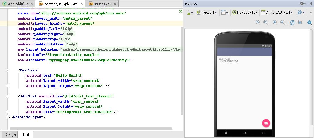 Android Development Examples: Application Development