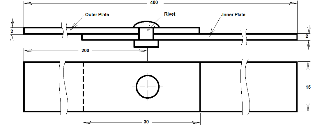 engineering samples the one about stress analysis of riveted lap joint