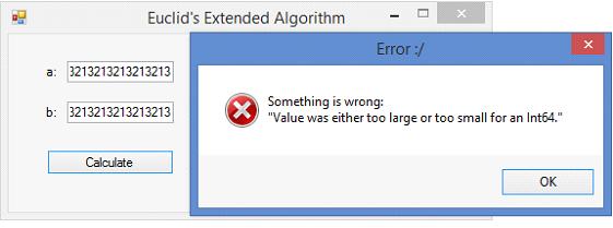 extended euclidean algorithm