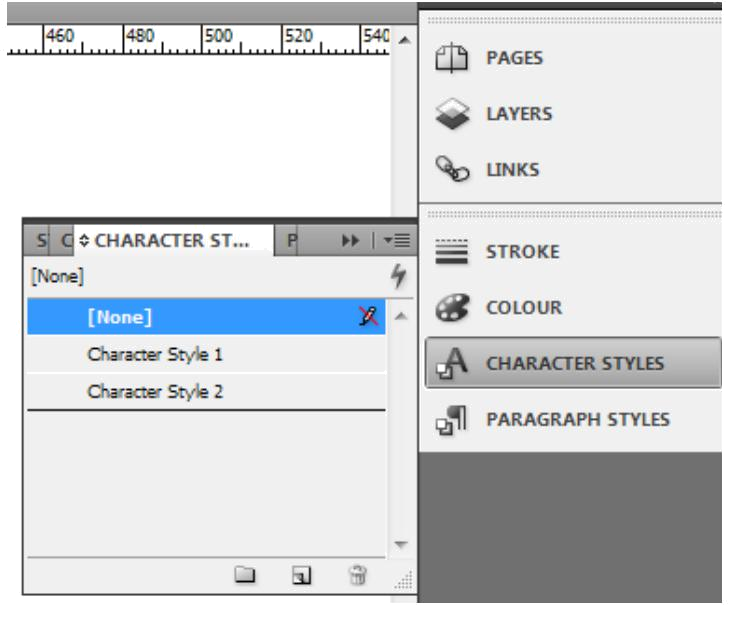 how to use indesign example analyzed