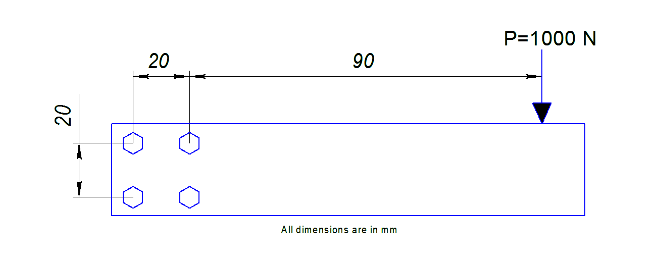 bolted joint calculation example