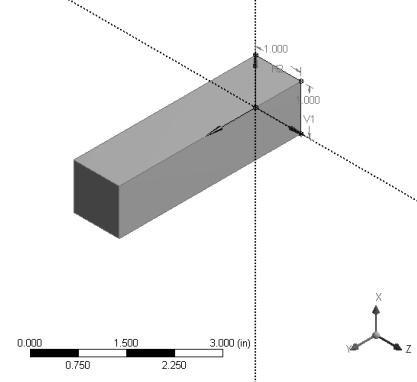 simple beam analysis example