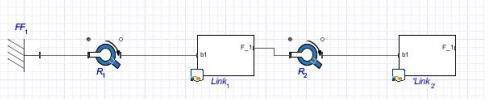 Double Pendulum in MapleSim assignment completed