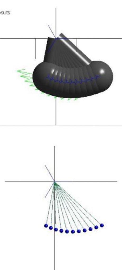 Guideon Pendulum Wave Effect in MapleSim assignment