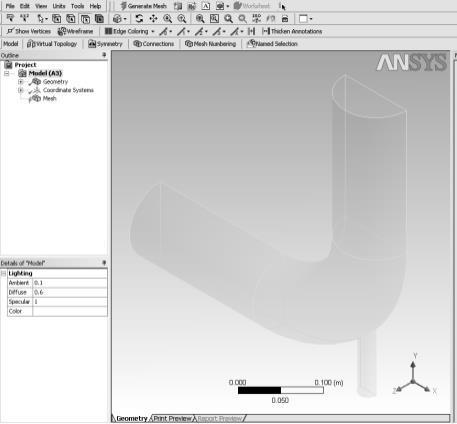 Ansys Fluent Module assignment
