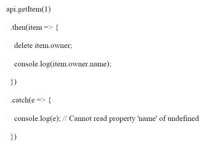 using javascript promises