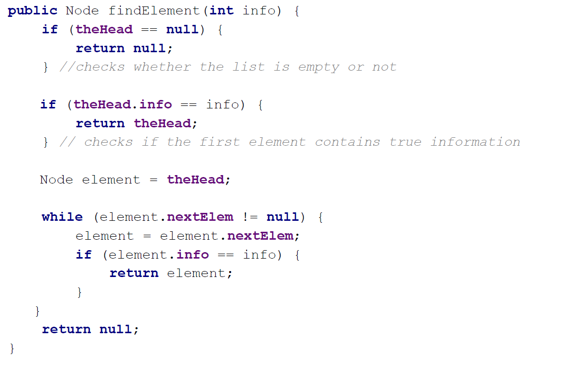 linkedlistnode java example