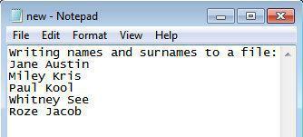 python write text file example