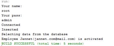 java connect to mysql database example