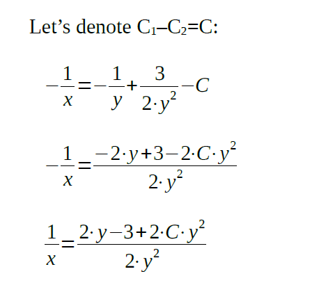 separable differential equations examples completed