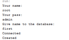 mysql database connection in java example
