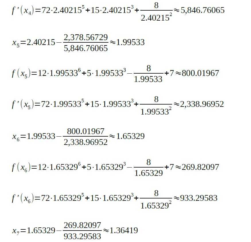 newton raphson method formula