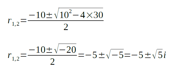 second order differential equation examples