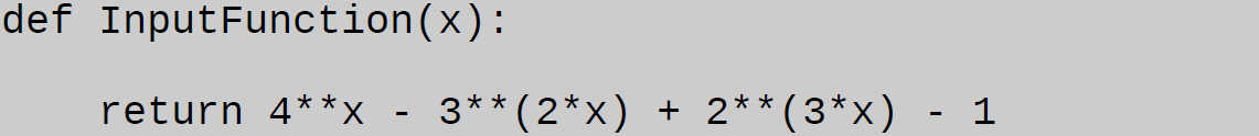 bisection method python example