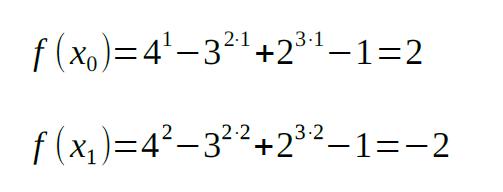 bisection method example