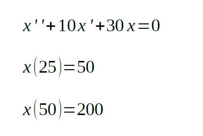 analyzed solution of second order differential equation