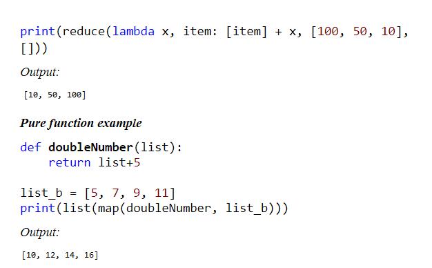 python functional programming sample
