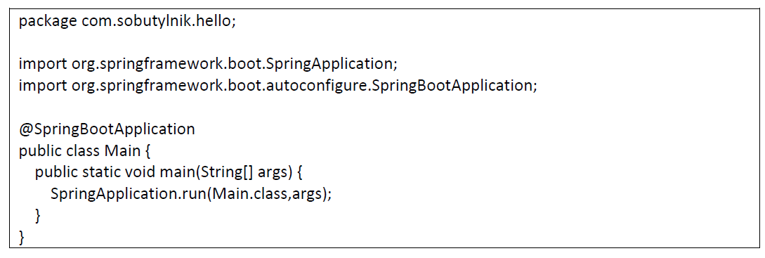 spring java configuration project