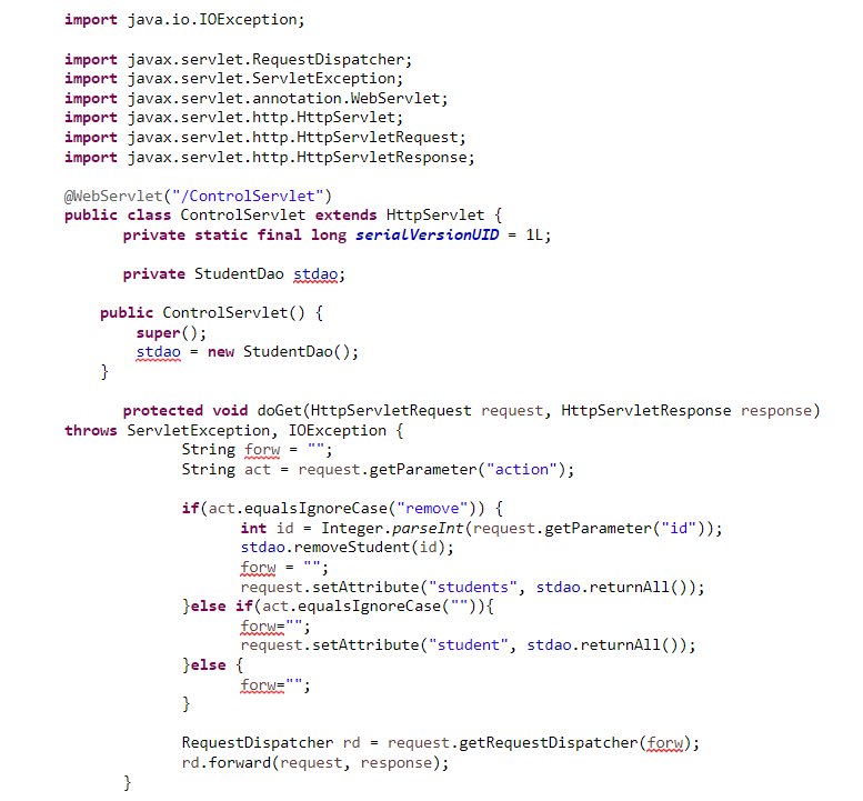 java server pages example