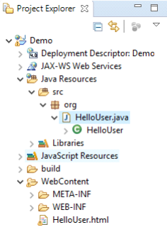 java web example
