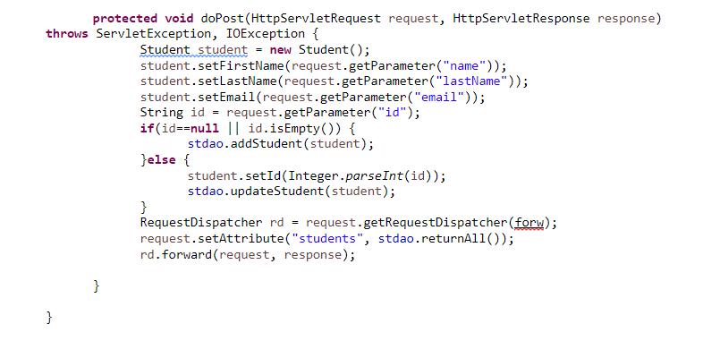 java server pages sample