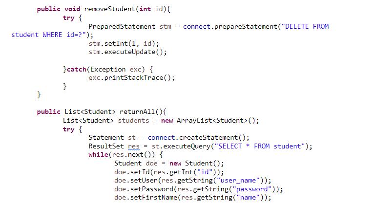 jsp servlets sample