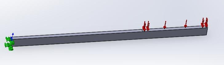 fea analysis in solidworks assignment