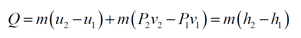 work equation thermodynamics example