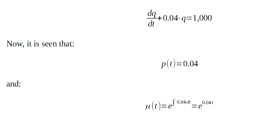 differential equation tank problem assignment